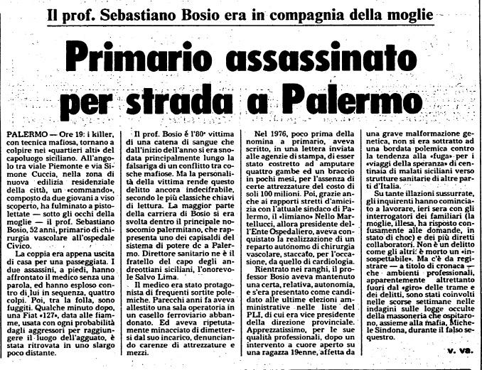 L'Unità, 7/11/1981