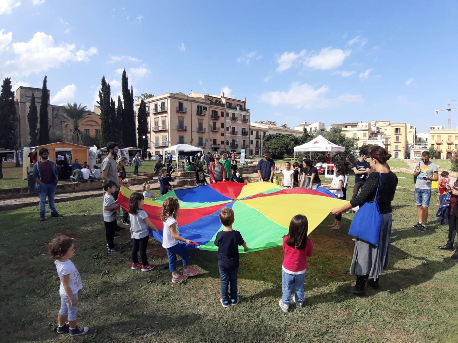 gioco in piazza