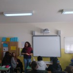 La nostra volontaria Francesca risponde alle numerose e interessanti domande dei ragazzi